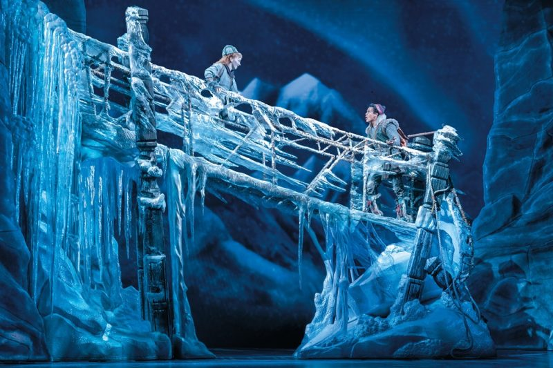 Caroline-Innerbichler-(Anna)-and-Mason-Reeves-(Kristoff)-in-Frozen-North-American-Tour---photo-by-Deen-van-Meer