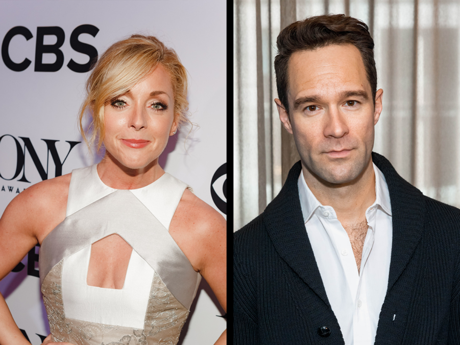 jane krakowski and chris diamantopoulos - photo EMK