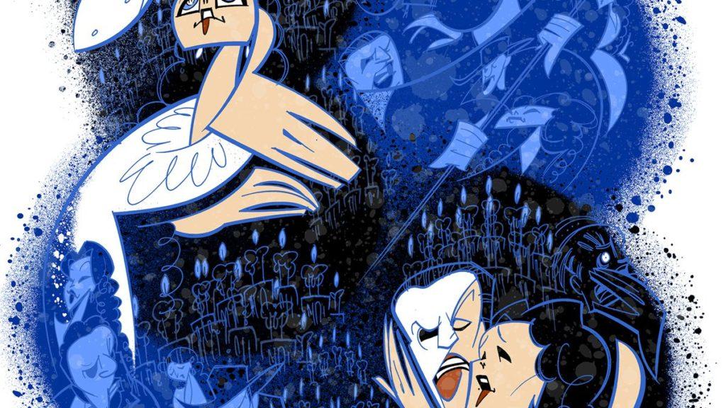 "Broadway Ink - The Phantom of the Opera - 30th Anniversary - 01/2018 - Justin ""Squigs"" Robertson"