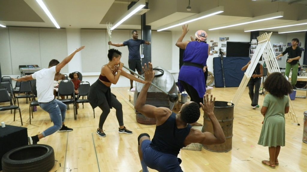 Still - In Rehearsal - Once On This Island